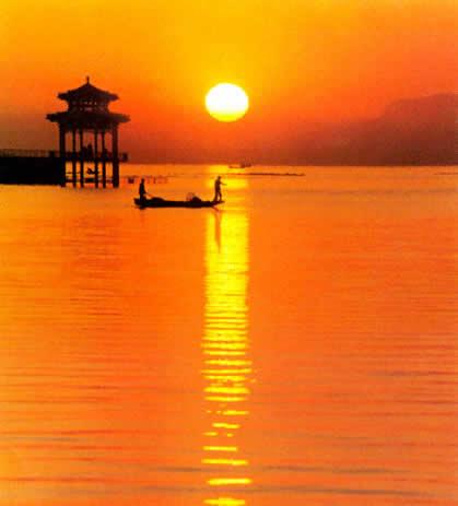 蓟县翠屏湖风景区位于蓟县城南2.