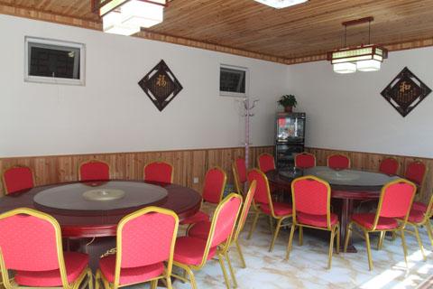 农家饭店墙手绘图