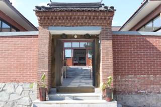 农家院中式门楼