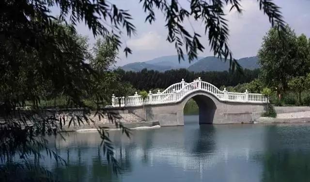 竹阁观景亭 竹子材质建造的亭阁,绿色环保,在水边上清风徐来,坐于亭